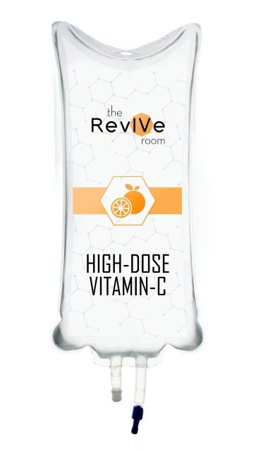 High-dose-vitamin-c-drip-IV-nutrition-therapy-the-woodlands-spring-conroe-Revive-room-the-woodlands